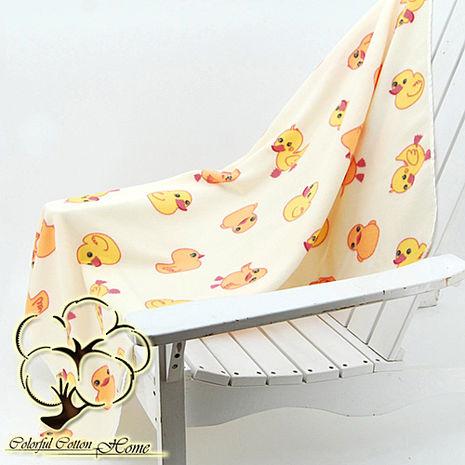 【采棉居寢飾文化館】小鴨四季毯