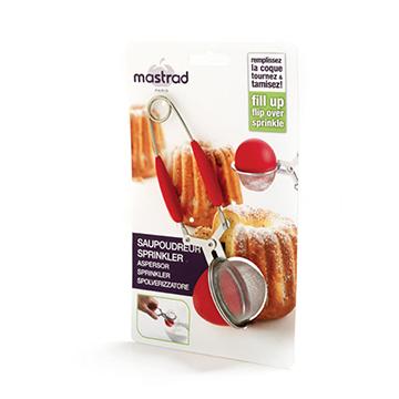 法國mastrad 矽膠多用途濾球紅