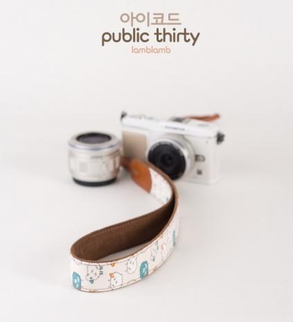 ICODE 幸運草 最流行的彩色相機背帶 PUBLIC 30  [可愛綿羊/P3000]