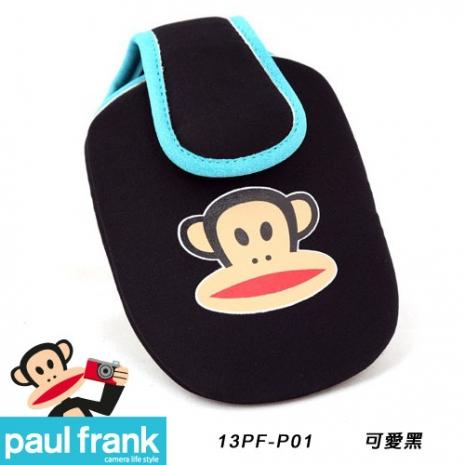 Paul Frank 大嘴猴相機包系列-超可愛輕巧相機包[13PF-P01-BK/可愛黑]