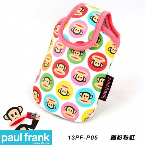 Paul Frank 大嘴猴相機包系列-超可愛絢麗輕巧包[PF13PF-P05-P/繽紛粉紅]