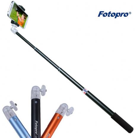 FOTOPRO QP-903L+SJ-85強力手機夾-套組 隨身型手持 自拍架 自拍杆 自拍桿-無藍牙功能[三色可選]