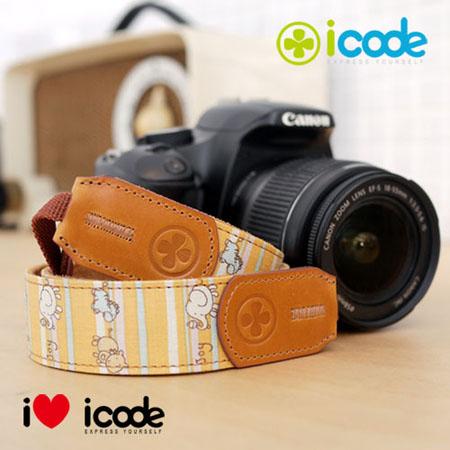 ICODE 幸運草 最流行的彩色相機背帶 PUBLIC 30 -最新花色 [共有13新色可選]可愛萬花P0523節