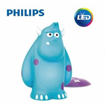【飛利浦 PHILIPS】迪士尼魔法燈-LED可攜式床邊燈-毛怪 (71705)