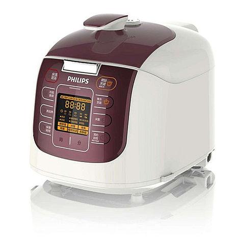 【飛利浦 PHILIPS】第二代智慧萬用鍋 晶豔紫 (HD2179)加贈專用內鍋HD2775 市價1000元