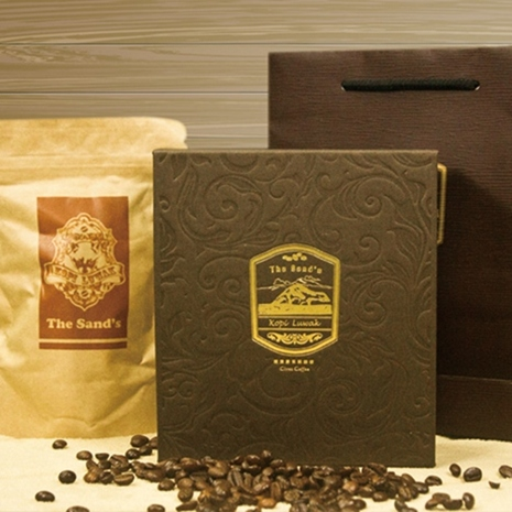預購7日《THE SANDS》尊爵嚴選印尼麝香貓咖啡豆3件組(100g±4.5g/包)