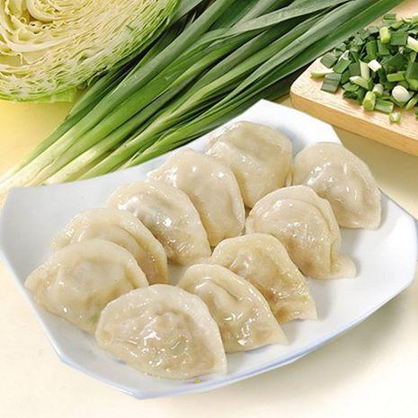 《禎祥食品》韭菜熟水餃(約100粒,1700g/包,共兩包)-預購