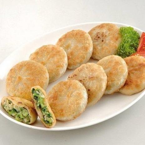 《禎祥食品》宜蘭蔥肉餡餅(30粒/包,共2包)-預購