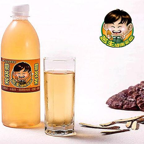 《苦主健康茶飲》養生靈芝茶(450ml±5%/瓶,共六瓶)-預購-戶外.婦幼.食品保健-myfone購物