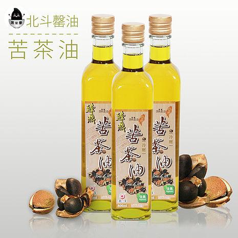 《黑米豪》北斗馨油 苦茶油(500cc/瓶)-預購