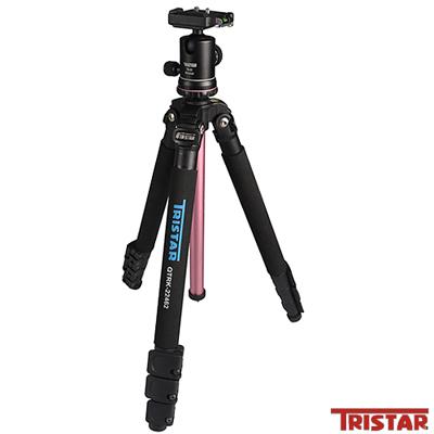 TRISTAR TRK-22462時尚鋁合金彩色腳架-粉紅色(公司貨)