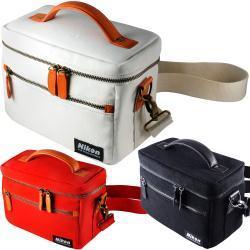 Nikon 原廠時尚日系相機包-紅
