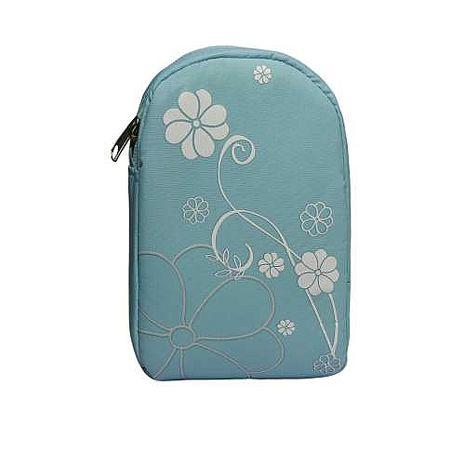【WD】數位專用相機包(花朵系列-粉藍)