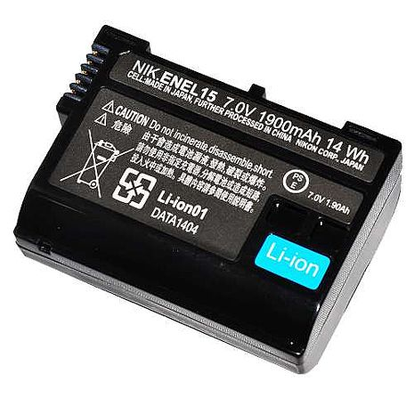 CBINC Nikon EN-EL15 副廠鋰電池