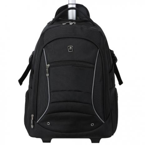 【AOU微笑旅行】商務型-拉桿後背包 電腦包(104-001)