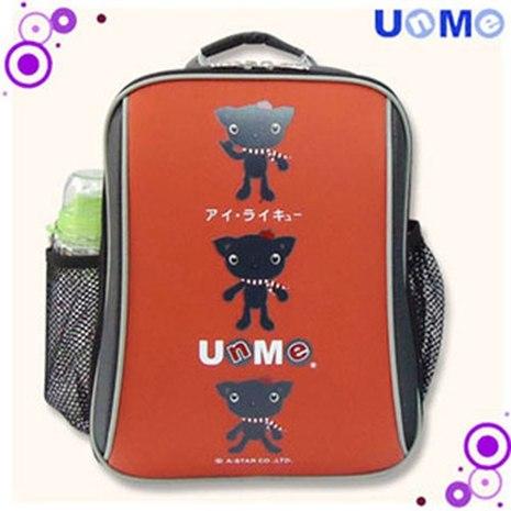 【UnMe】超輕單層後背書包/磚紅色