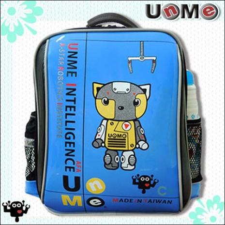 【勤澤軒】UnMe機器人華麗單層後背書包(寶藍色)