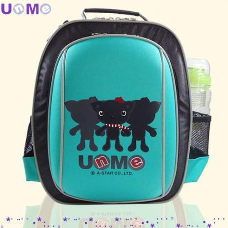 【勤澤軒】UnMe低年級雙層輕巧後背書包( 藍綠)