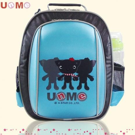 【勤澤軒】UnMe圓弧風低年級後背書包( 水藍色 )