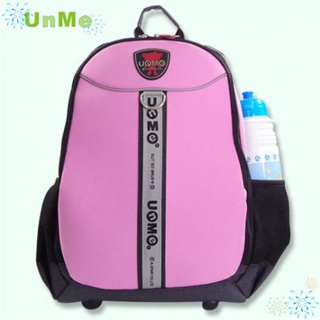 1111【勤逸軒】UNME 多功能休閒小筆電後背包/粉紅色