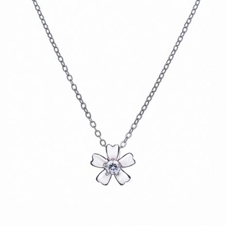 【Treasure Box】心的花朵 925純銀墜鍊