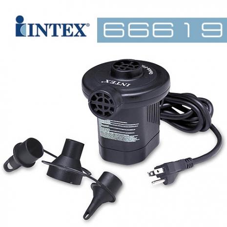 【INTEX】110V~120V AC 電動打氣筒 (66619) 特賣