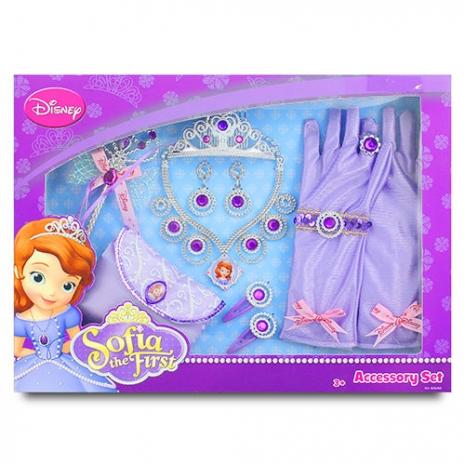 【迪士尼品牌授權】蘇菲亞豪華妝扮12件組 BL82523