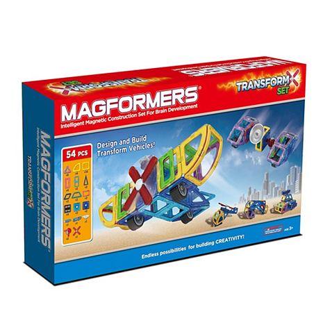 【Magformers 磁性建構片】變形組54pcs