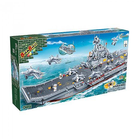 【BanBao 積木】戰爭系列-遼寧號母艦 8419 (樂高通用)