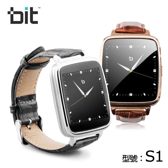 bit smart watch S1 智慧型手錶高雅金