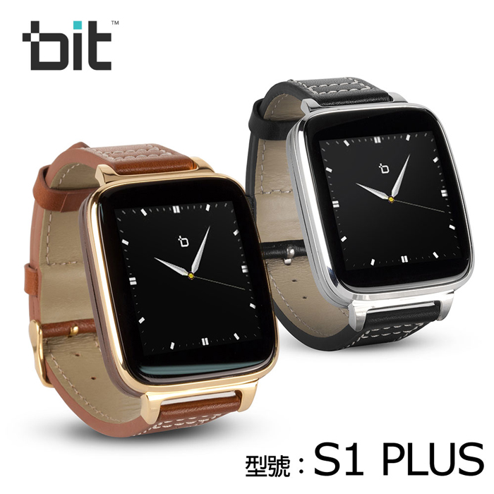 bit smart watch S1 Plus 智慧型手錶貴族金