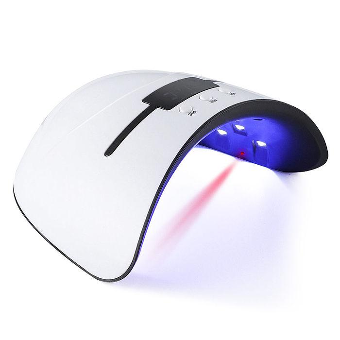 智能美甲光療機(LED+UV雙光源 三段定時設定 紅外線自動感應 USB電源設計)