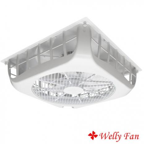 【威力】18吋輕鋼架天花板節能風扇 附基本安裝(WL-RA16S)/(WL-RA26S)