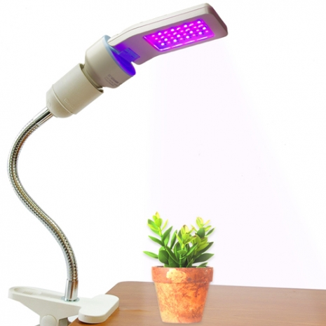 【Ddiosas LED】3D平板LED燈泡夾燈組(植物燈)