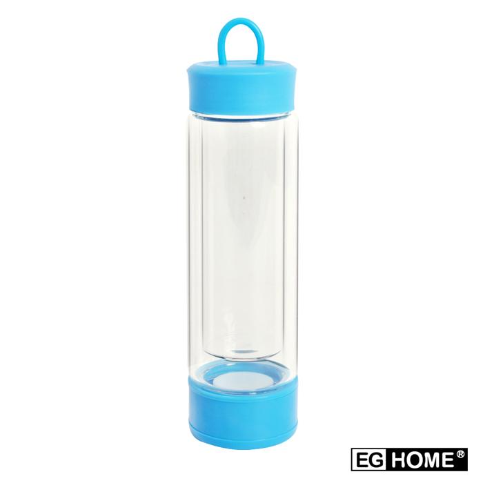 EG Home 宜居家MOOLI 魔立創意炫彩雙層不倒瓶/不倒杯(200ml)(附清潔刷)