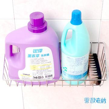 歐奇納 OHKINA隨手貼系列 多功能洗衣籃置物架組方型掛勾