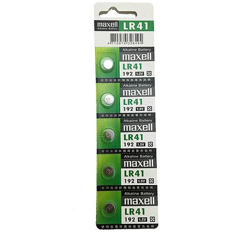 日本第一水銀電池 maxell LR41(二卡10入)