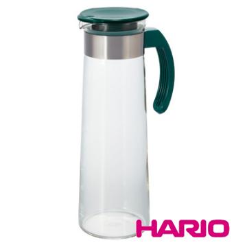 【HARIO】深綠典雅把手冷泡壺1000ml / MDH-10DG