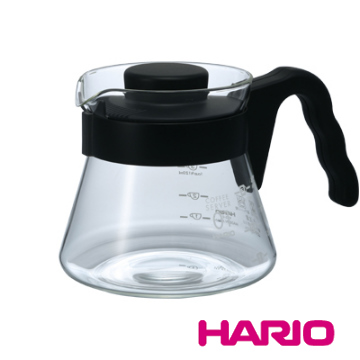 【HARIO】V60好握01黑色咖啡壺450ml / VCS-01B