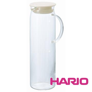 【HARIO】米白把手冷水壺1000ml HDP-10PW