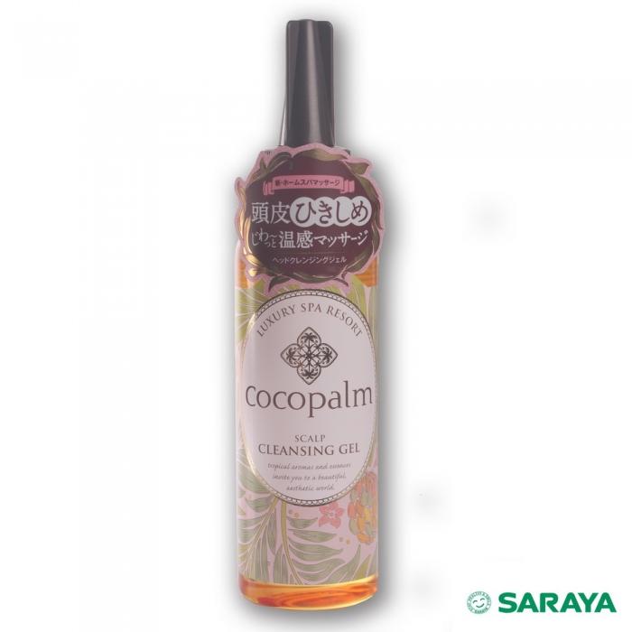 【日本SARAYA】cocopalm溫感頭皮按摩凝膠150ml