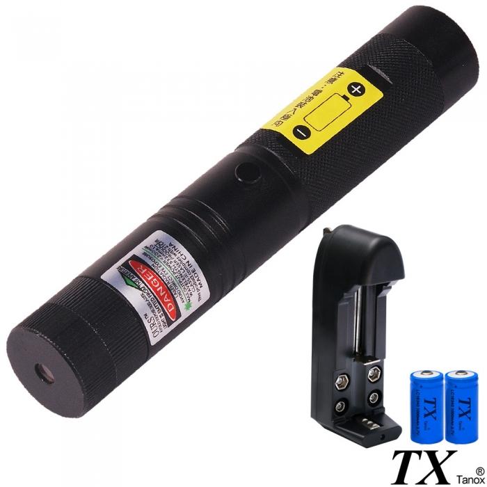 【特林TX】綠光雷射手電筒100mW附滿天星(TX-G100-Z)
