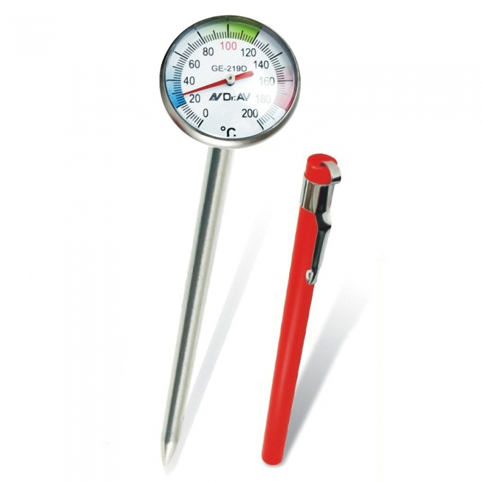 【Dr.AV】多功能迷你筆型烹飪溫度計(GE-219D)