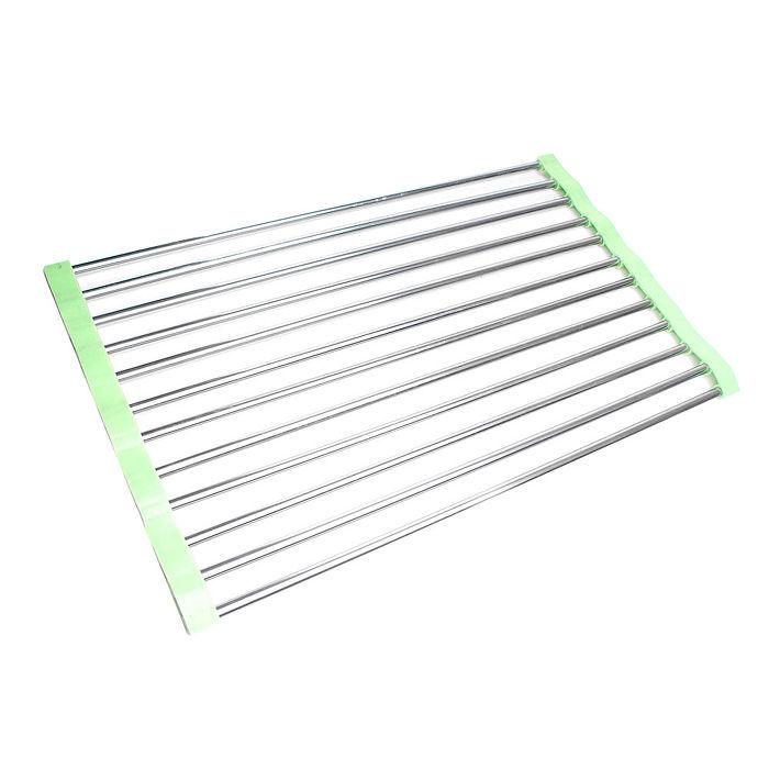 【STAINLESS STEEL】簡單收納多功能防滑瀝水架-居家日用.傢俱寢具-myfone購物