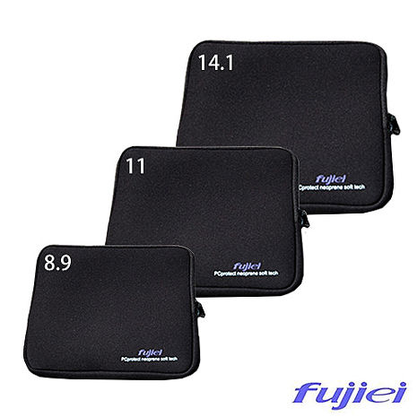 Fujiei筆記型電腦/平板14.1吋多功能防震包