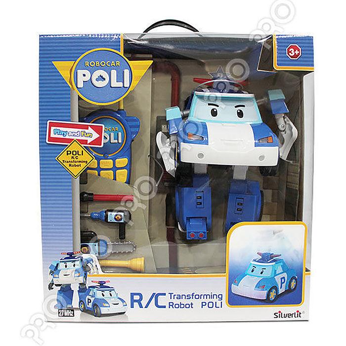 【UP101】POLI 10吋 變形遙控波力/波力 救援小英雄/遙控車/可變形/(RB83185)-app