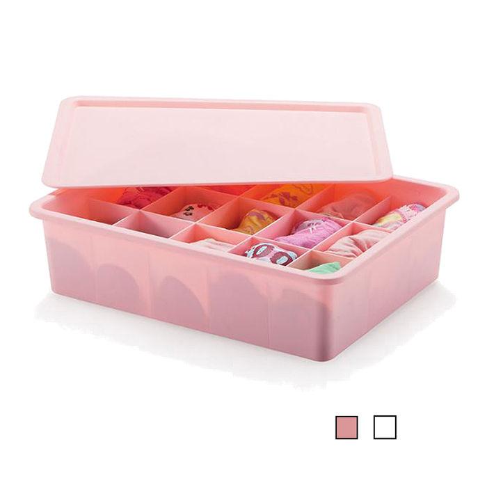 多功能爆款15格內褲襪子收納盒/收納箱(HS-CO15)