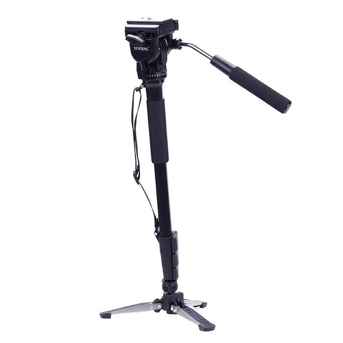 攝影機單腳架+液壓雲台套組-鋁合金VCT-288