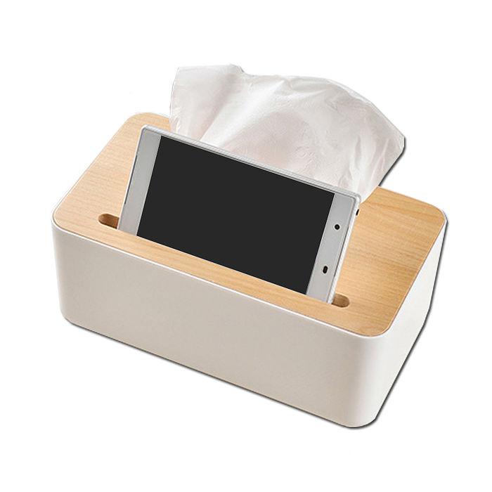 【SAFEBET】歐式高級橡木蓋子紙巾盒SFB-BX1