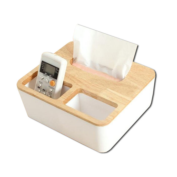 【SAFEBET】歐式高級三格式橡木蓋子紙巾盒SFB-BX2